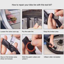 Load image into Gallery viewer, Multitool and Tyre Repair Kit with Pry Bars