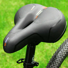 Load image into Gallery viewer, Extra Wide Comfort Saddle Bicycle Seat