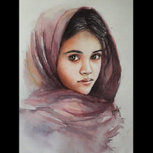 Load image into Gallery viewer, Apr 24th & 25th - Watercolor Portrait workshop by Ilakkiya Subramanian