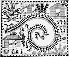 Load image into Gallery viewer, May 9th - Warli (Indian Folk Art) Workshop by Shriya Sinha