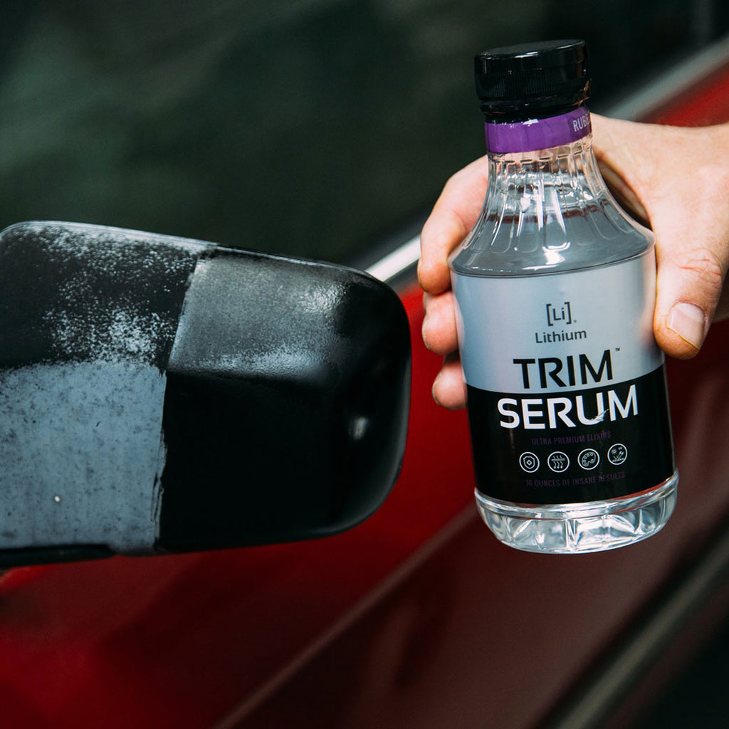 Best Fender Flare Restorer Lithium Trim Serum