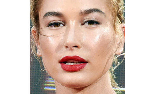 Hailey Baldwin Instant Face Lift Tapes