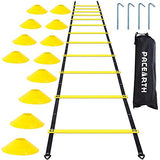 PACEARTH Agility Ladder - Yellow