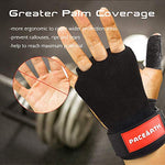 PACEARTH Leather Gymnastics Hand Grips