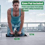 PACEARTH Solid Ab Roller Wheel for Abs Workouts