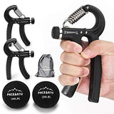 PACEARTH Hand Grip Strengthener Workout Kit