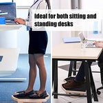 PACEARTH Foot Rest Under Desk, Larger Size Desk Footrest(17x13x4 inch)