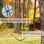 PACEARTH Swing Seat with Heavy Duty Chains