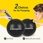 PACEARTH Mini Exercise Ball, 9 inch Pilates Ball