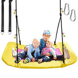 PACEARTH Giant Platform Tree Swing for Kids and Adult
