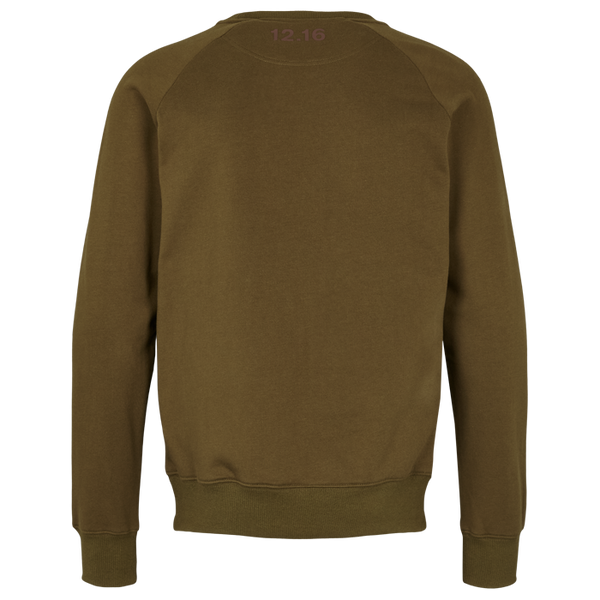 Sweat Shirt Olive 100% cotton