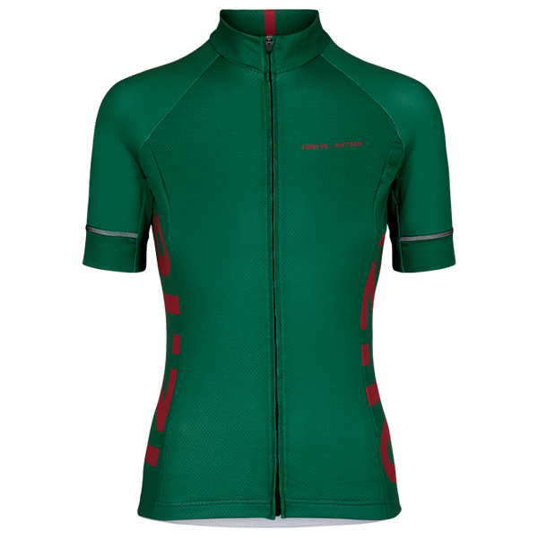Jersey S/S Elite Women 127Green/R