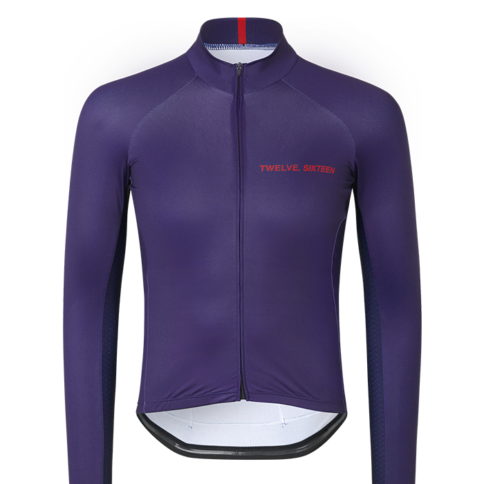 Long Sleeve Jersey Purple