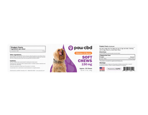 CBD Dog Soft Chews Chicken and Bacon 150mg Hong Kong