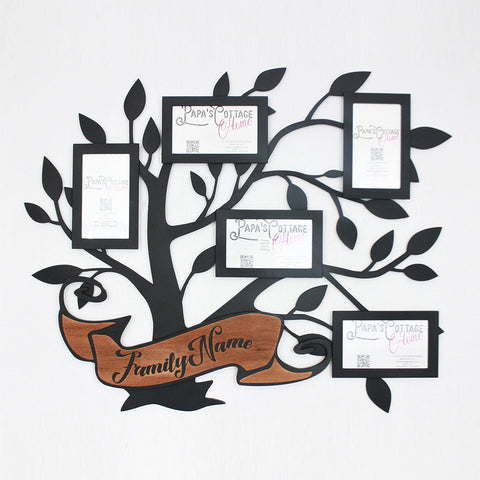 """Family Tree  Photo Collage 