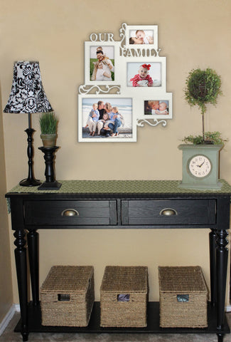 """Family Collage Picture Frame   23""""X19"""" Personalized picture frame"""