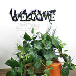 """Dog Welcome"" Decorative Sign - Papa's Cottage Home Goods & Decor"