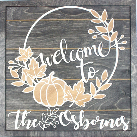 """Welcome to"" Welcome Sign - Papa's Cottage Home Goods & Decor"