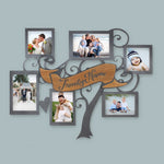 "Swirly Tree Picture Collage | 22""X17"" Personalized family collage picture frame"