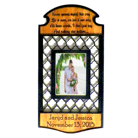 Lyric Wedding Photo Frame - Papa's Cottage Home Goods & Decor