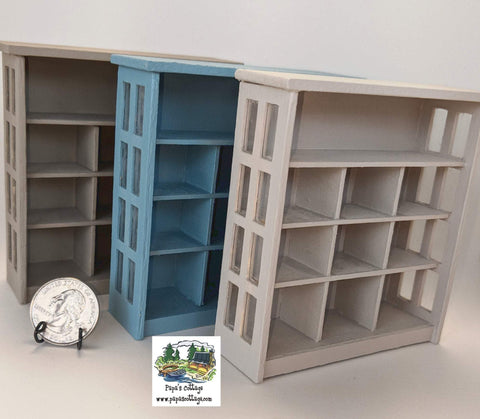 Windowed Cupboard1:12 - Papa's Cottage Home Goods & Decor