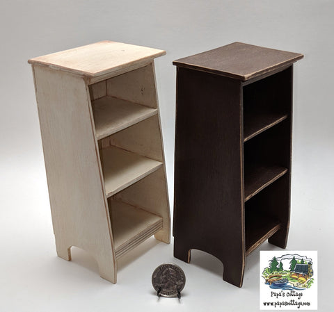 Sloped Display/Bookcase for Barbie® - Papa's Cottage Home Goods & Decor