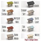 Miniature High Chair 1:12 - Papa's Cottage Home Goods & Decor