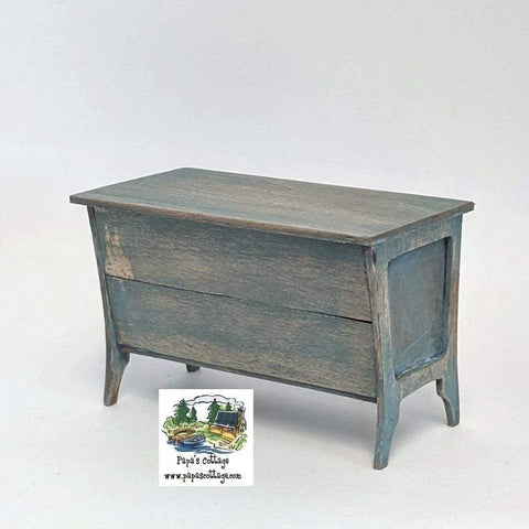 Trough/Doughbox Display Table 1:12 - Papa's Cottage Home Goods & Decor