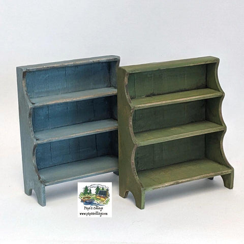 Tri-Circle Bookcase 1:12 - Papa's Cottage Home Goods & Decor