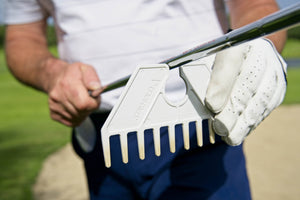 GOLF POCKET BUNKER RAKE - Free shipping on all golf orders of £13 and above