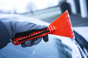 Stayhold ICE SCRAPER+SQUEEGEE showing underside