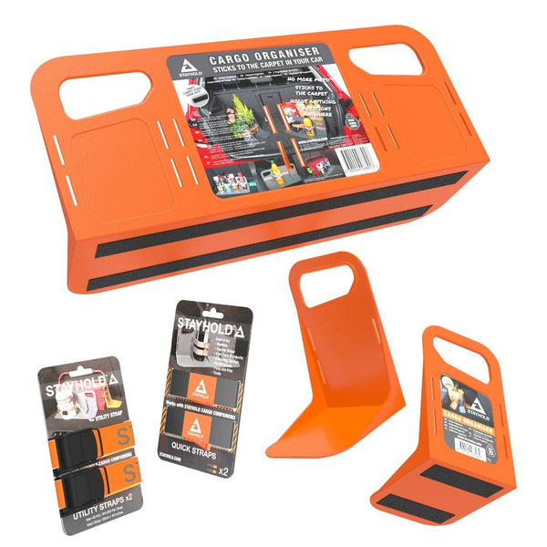 Stayhold super pack shopping holders in orange (orange)