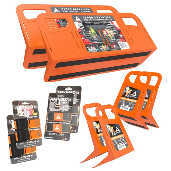 Stayhold shopping holders ultimate pack in orange (orange)