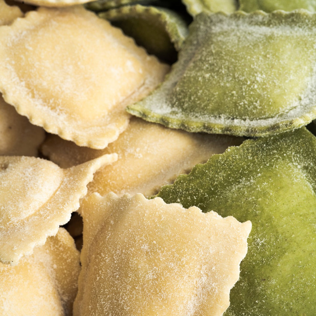 Ravioli - Spinach & Pumpkin - The Flying Zucchinis