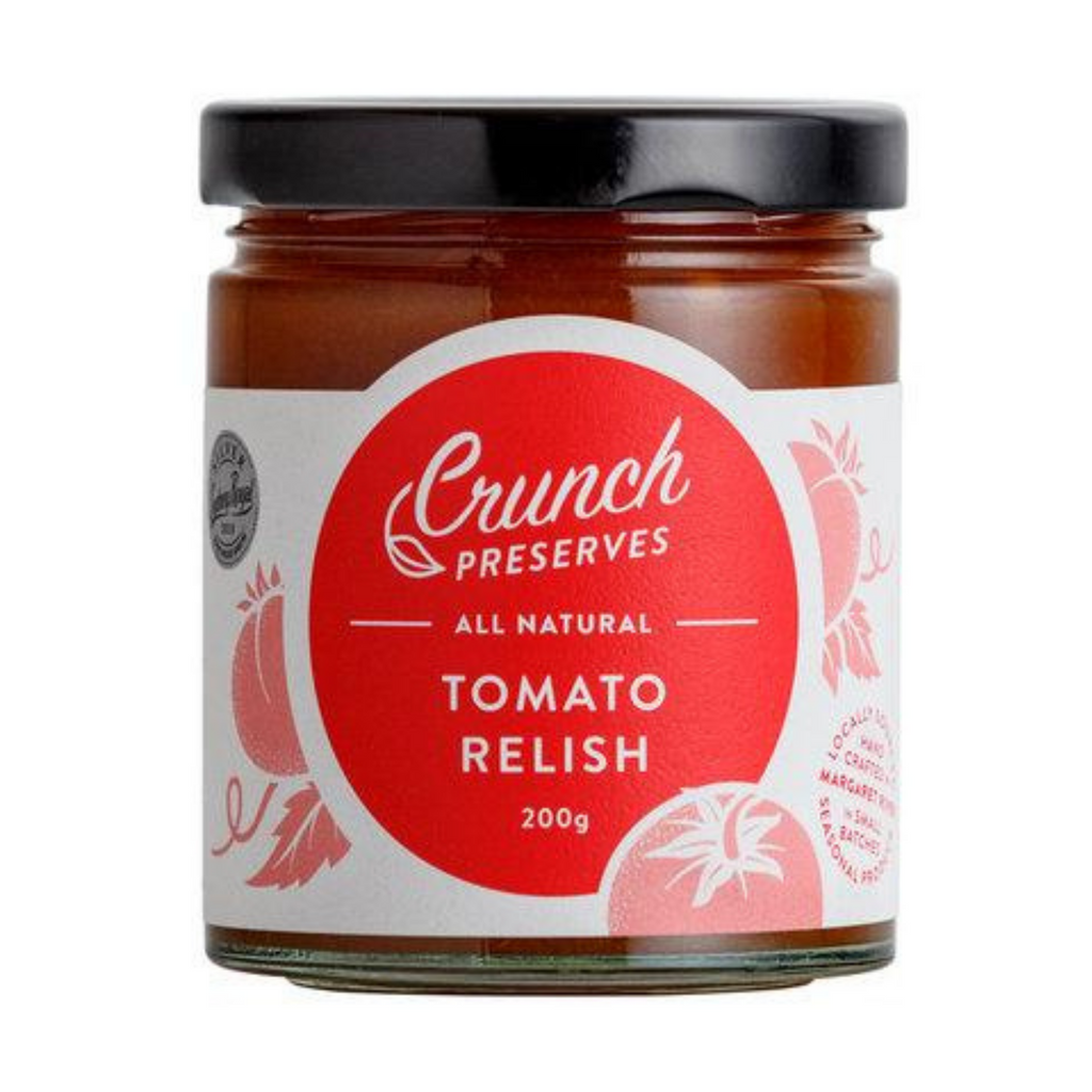 Crunch Tomato Relish - The Flying Zucchinis