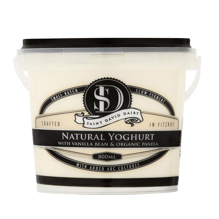 St David Dairy Yoghurt - The Flying Zucchinis