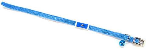 Li'l Pals Collar With Bow - Light Blue