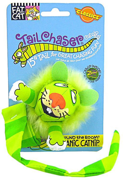Fat Cat Kitty Hoots Tail Chaser - Assorted