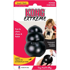 Kong Extreme Kong Dog Toy - Black
