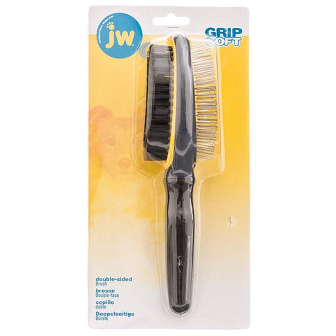 JW Gripsoft Double Sided Brush - Dogs