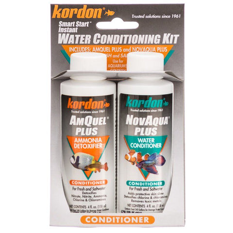 Kordon NovAqua + AmQuel Start Smart Instant Water Conditioning Kit