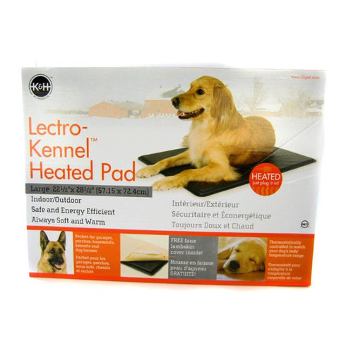 K&H Pet Products Lectro Kennel Heating Pad & Cover - Indoor/Outdoor