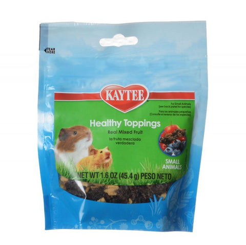 Kaytee Fiesta Healthy Toppings Mixed Fruit - Small Animals