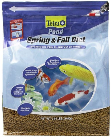 Tetra Pond Spring & Fall Diet Fish Food