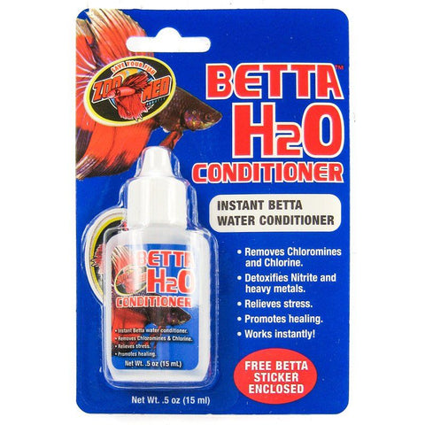 Zoo Med Aquatic Betta H2O Water Conditioner
