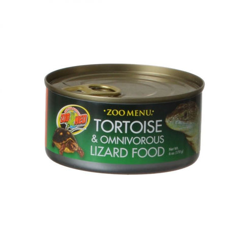 Zoo Med Land Tortoise & Omnivorous Lizard Food - Canned