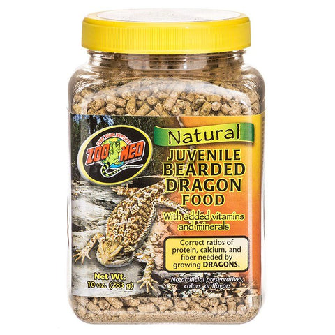 Zoo Med Natural Juvenile Bearded Dragon Food