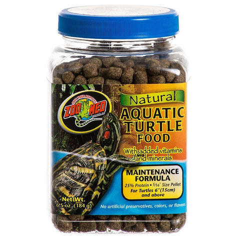 Zoo Med Natural Aquatic Turtle Food - Maintenance Formula (Pellets)