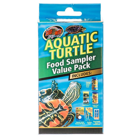 Zoo Med Aquatic Turtle Foods Sampler Value Pack