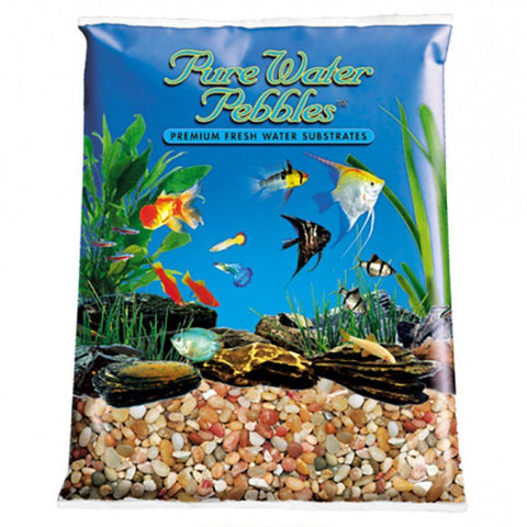 Pure Water Pebbles Aquarium Gravel - Cumberland River Gems